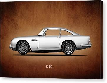 Racing Car Canvas Print - The Aston Martin Db5 by Mark Rogan