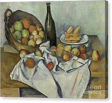 The Basket Of Apples, Canvas Print by Paul Cezanne