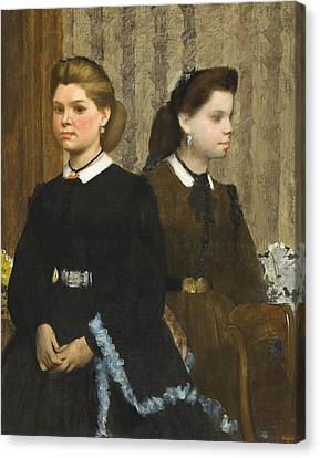 The Bellelli Sisters Canvas Print