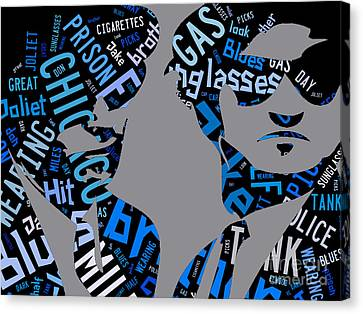 The Blues Brothers Quotes Canvas Print