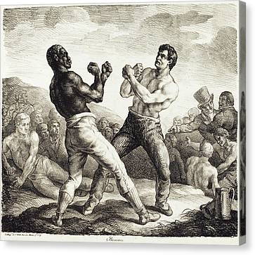 The Boxers Canvas Print