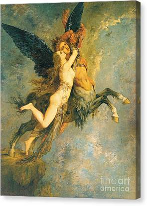 The Chimera Canvas Print by Gustave Moreau
