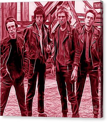 The Clash Collection Canvas Print by Marvin Blaine