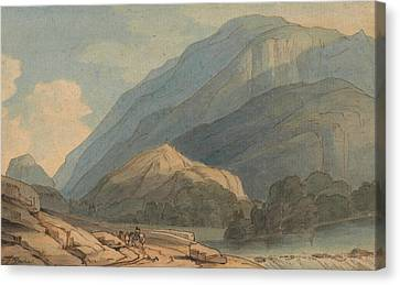 The Entrance Into Borrowdale Canvas Print