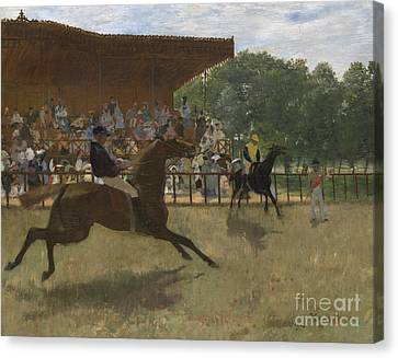 The False Start Canvas Print