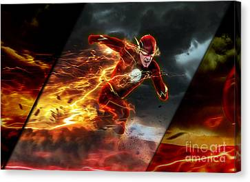 The Flash Collection Canvas Print