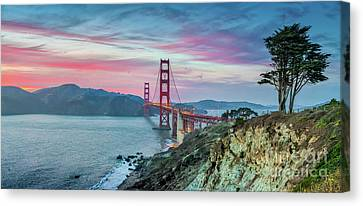 The Golden Gate Canvas Print by JR Photography
