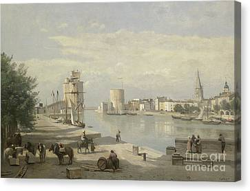 The Harbor Of La Rochelle Canvas Print