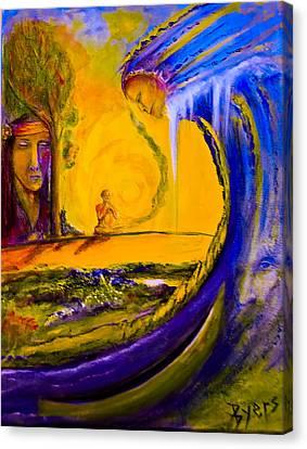 The Island Of Man Canvas Print