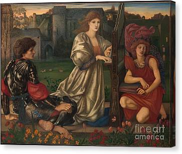 The Love Song Canvas Print