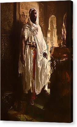 Artwork On Canvas Print - The Moorish Chief by Mountain Dreams