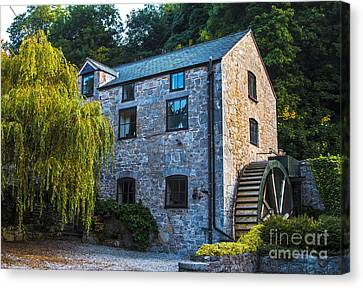 Chris Evans Canvas Print - The Old Water Mill by Chris Evans