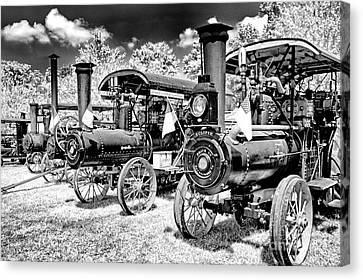 Canvas Print featuring the photograph The Old Way Of Farming by Paul W Faust - Impressions of Light