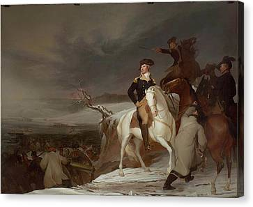 The Passage Of The Delaware Canvas Print