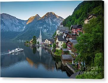 Hallstatt Canvas Print - The Pearl Of Austria by JR Photography
