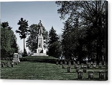 The Private Soldier Monument - Antietam Canvas Print