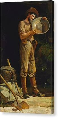 Prospector Canvas Print - The Prospector  by Julian Ashton