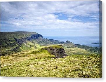 The Quiraing Canvas Print by Nichola Denny