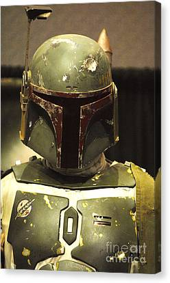 Armor Canvas Print - The Real Boba Fett by Micah May