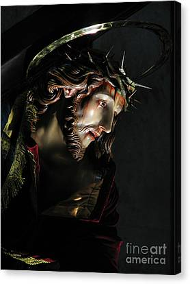 The Redeemer Canvas Print by Richard Faenza