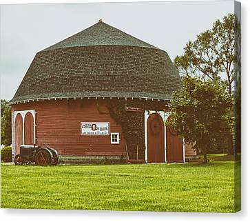 The Round Barn Canvas Print