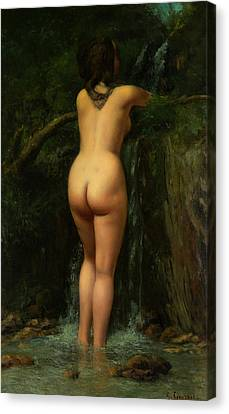 The Source  Canvas Print by Gustave Courbet