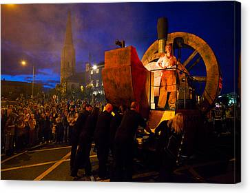 The Spraoi Street Festival, Waterford Canvas Print by Panoramic Images