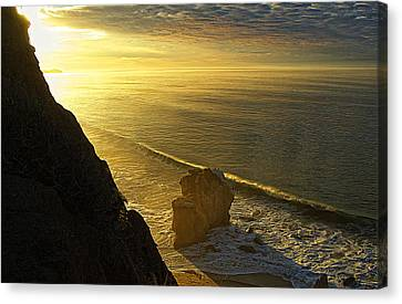 Pch Canvas Print - The Start Of A New Day by Ron Regalado