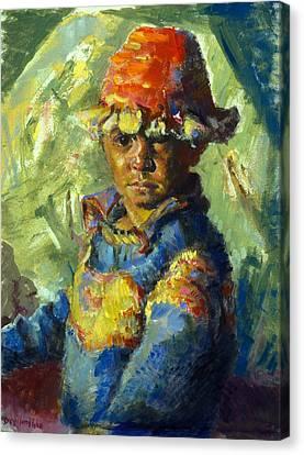 The Tibetan Boy Canvas Print