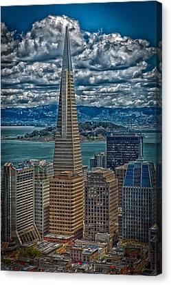 The Transamerica Building Canvas Print