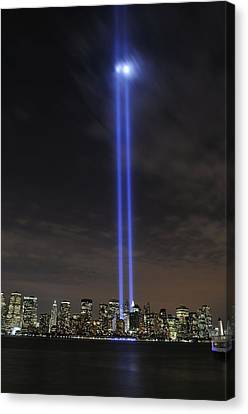 The Tribute In Light Memorial Canvas Print