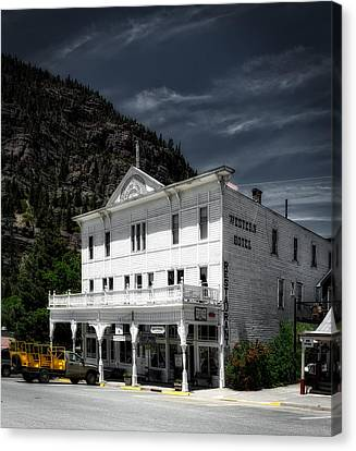 The Western Hotel Canvas Print by Mountain Dreams