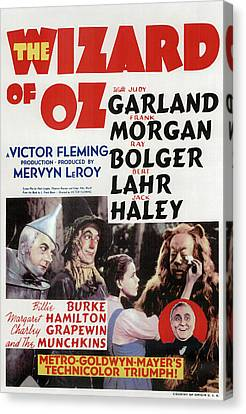 The Wizard Of Oz 1939 Canvas Print