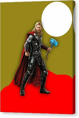Thor Collection Canvas Print