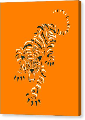Tiger Canvas Print by Jazzberry Blue