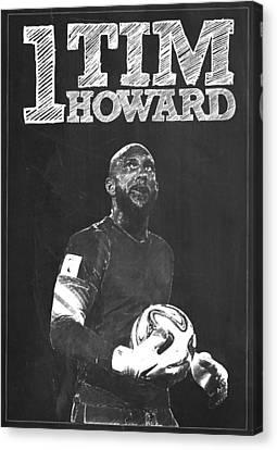 Tim Howard Canvas Print