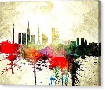 Tokyo Canvas Print by Daniel Janda