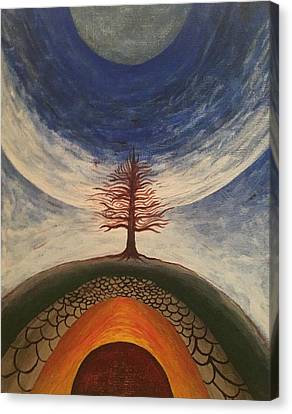 Tree Canvas Print by Steve  Hester