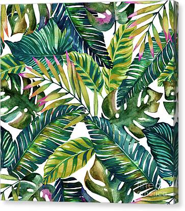 Tropical  Canvas Print by Mark Ashkenazi