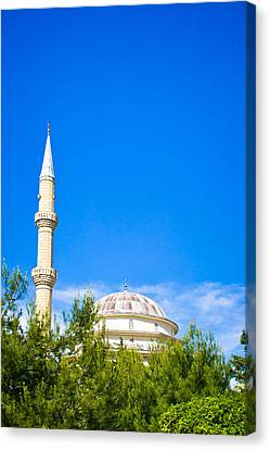Turkish Mosque Canvas Print by Tom Gowanlock