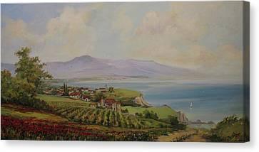 Tuscan Landscape Canvas Print by Tigran Ghulyan
