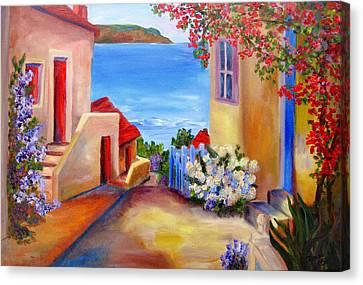 Tuscany Village  Canvas Print