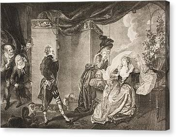 Twelfth Night, Or, What You Will. Act Canvas Print