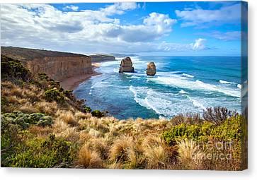 Twelve Apostles Great Ocean Road Canvas Print by Bill  Robinson