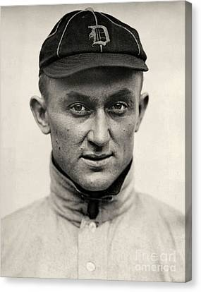 Detroit Tigers Canvas Print - Ty Cobb by American School