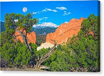 Typical Colorado  Canvas Print by Bijan Pirnia