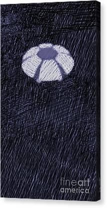 Bizarre Canvas Print - UFO by Raphael Terra