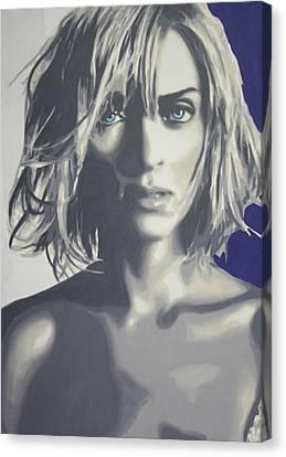 UMA Canvas Print by Luis Ludzska