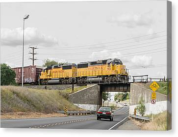 Up9912 Canvas Print by Jim Thompson