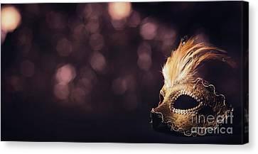 Hidden Canvas Print - Venetian Mask by Jelena Jovanovic